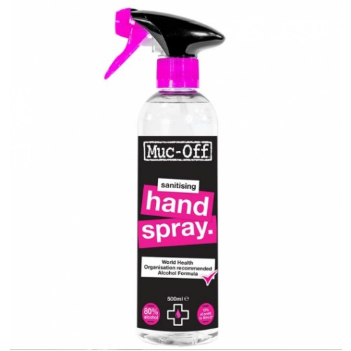 Antibacterial Sanitising Hand and Surface Spray Contains 80% alcohol 500ml
