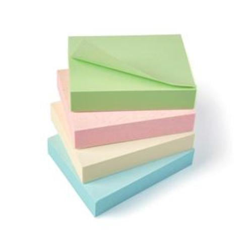 5 Star Eco Recycled Notes 38x51mm Pastel [Pack 12]