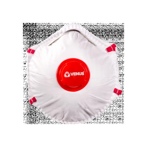 VENUS V-220 SLV FFP2 NR D Face Mask [Pack10] - with 50x FREE 3-ply Masks