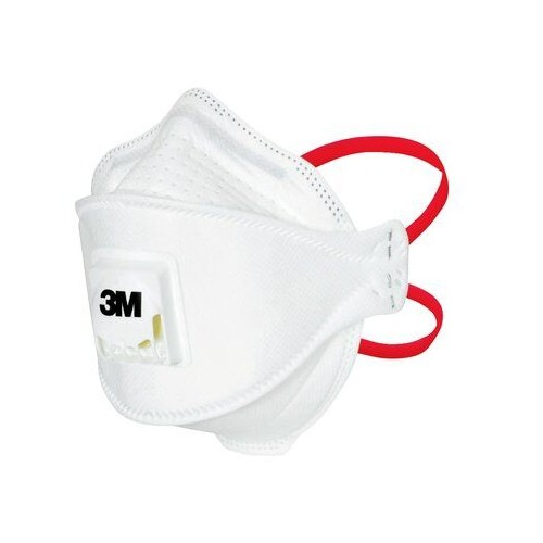 3M™ Aura™ Disposable Healthcare Respirator, FFP3, Type IIR, Valved, 1873V+ [Pack 10]
