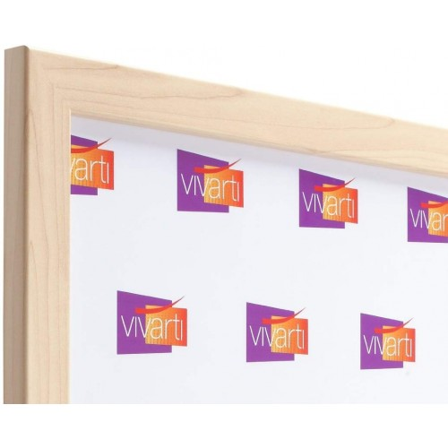 Vivarti Maple Finish Picture Frame, A4 Certificate Size, 21 x 29.7cm