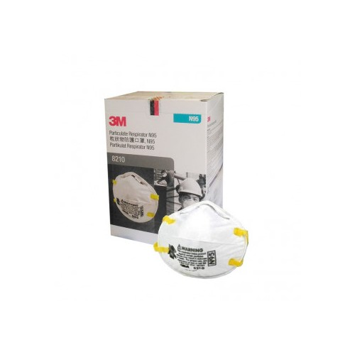3M™ Particulate Respirator Face Mask 8210, N95 [Pack 20]