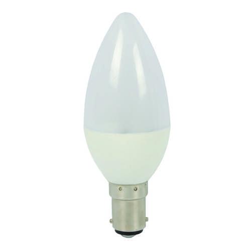 Liteway LED Candle Screw Cap SBS/B15 5W / 400 Lumen - Bulk Pack 5