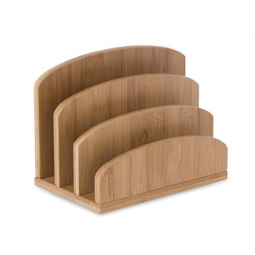 Osco Bamboo Letter Holder