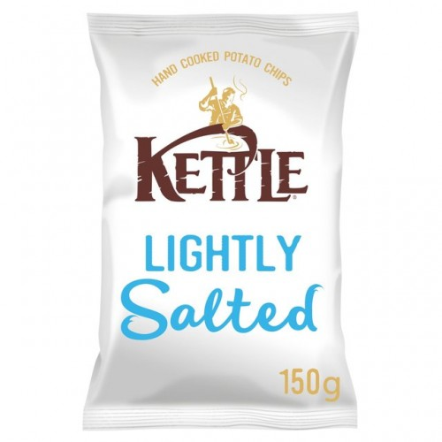 Kettle Chips Lightly Salted 150g ( Pack of 12 )