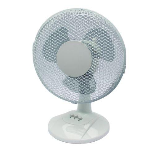 Q-Connect 2-Speed Desktop Fan 9 Inch