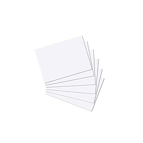 White A5 Card 300gsm 100 Sheets White Card