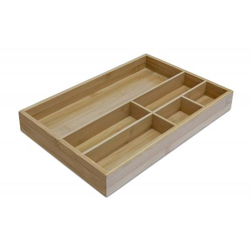 Osco Bamboo Drawer Organiser
