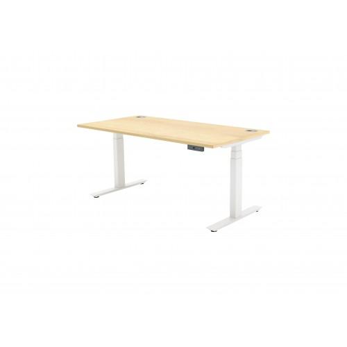 Autonomy Pro Dual Motor Electric Sit/Stand Single Desk 1400X800 Maple
