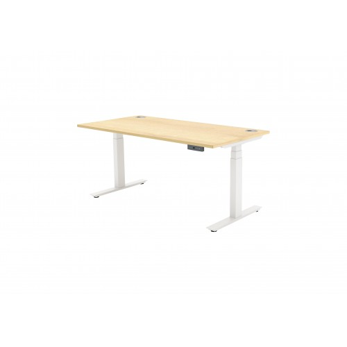 Autonomy Pro Dual Motor Electric Sit/Stand Single Desk 1600X800 Maple