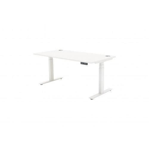 Autonomy Pro Dual Motor Electric Sit/Stand Single Desk 1200X600 White