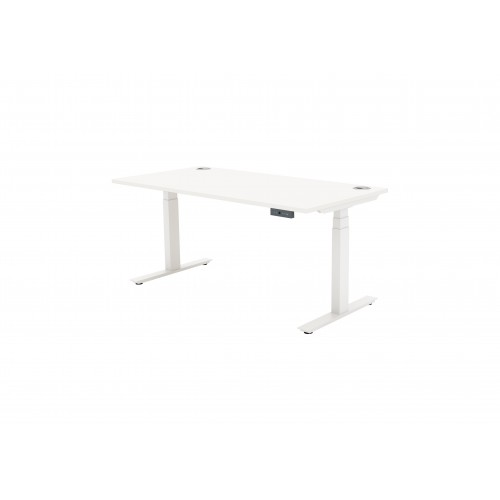 Autonomy Pro Dual Motor Electric Sit/Stand Single Desk 1400X600 White