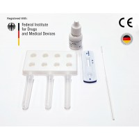 COVID-19 Lateral Flow Rapid Antigen Test (CE Marked 15min Nasal Swab) Test Kit