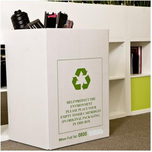 FREE Toner and Ink Cartridge Recycling Bin