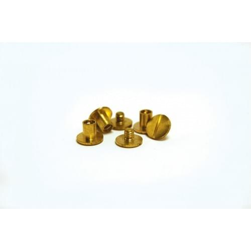 Brass Binding Screws 15mm Pack of 100