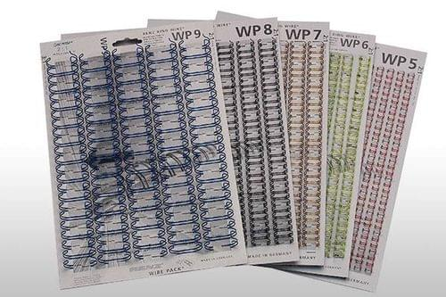 Wire Bind Element White No.6 A4 Box of 250