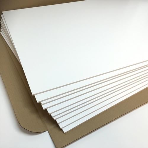 10mm White Foam Board 1220mm  x 2440mm Pack of 12