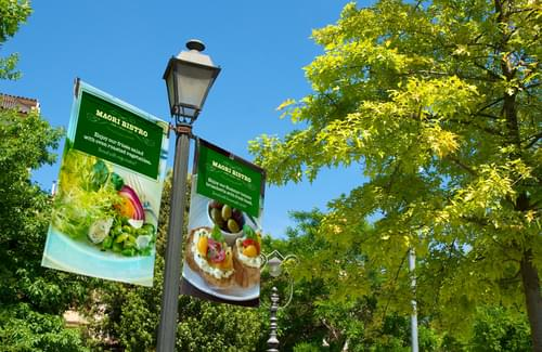 Polyester Banner 1067mm x 45.7m - 145gsm - 3in