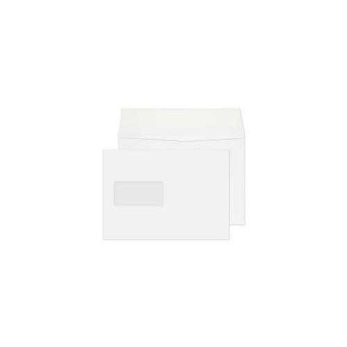 Gusset White Pocket Wndow C5 120gsm P/S Envelope Box 125