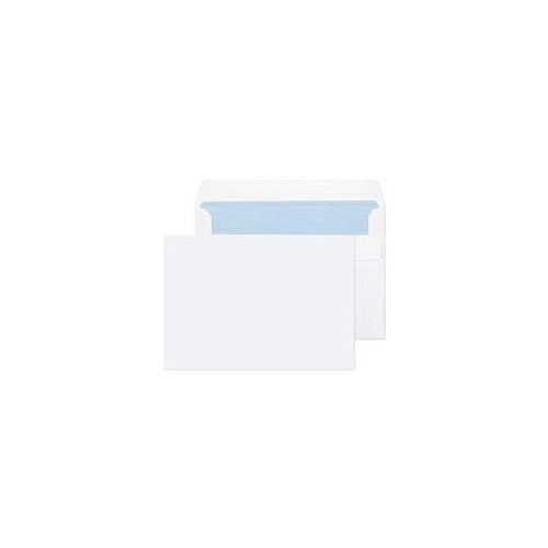 White Wallett S/S 90gsm C6 White Envelope Box 1000