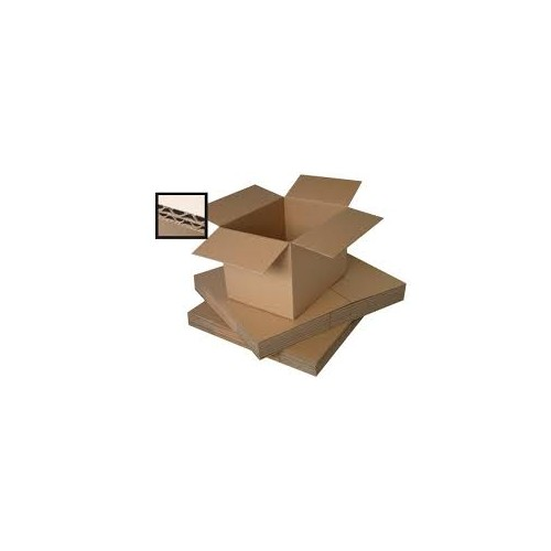 Brown Double Wall Box 480mm x 345mm x 75mm Pack 200