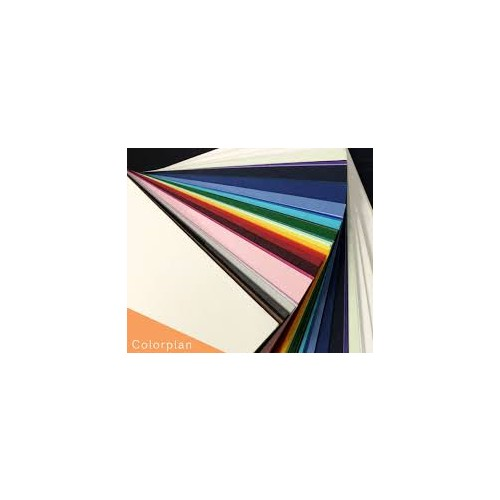 Colorplan Pristine White with Buckram Embossing 460mm x 320mm Pack of 50