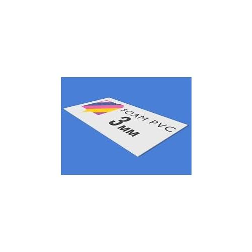 3mm White FB 1220mm x 3050mm White Sheet