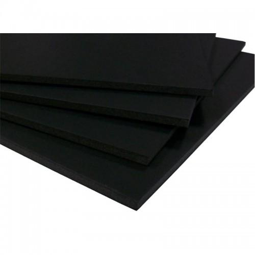5mm Black Self Adhesive Foam Board A1 (594 x 841) Pack of 10
