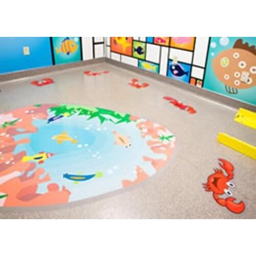 Textured 150mic Floor Graphic 1370mm x 30m