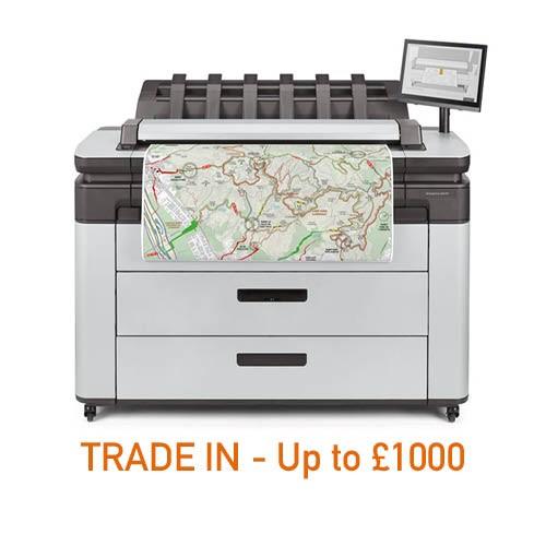 Designjet XL 3600 MFP Printer - 36in (3MW)