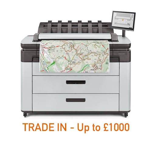 Designjet XL 3600 MFP Printer - 36in (2YW)