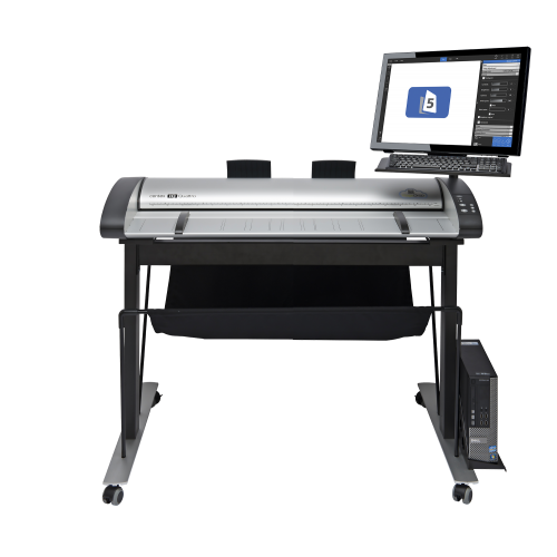 IQ Quattro 36 MFP Repro Scanner and High Stand
