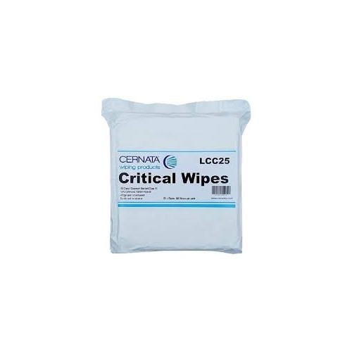 Cernata Cleanroom Lint Free Wipes 25cm x 25cm 10x Pack of 10