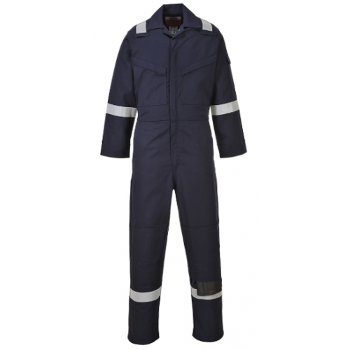 PORTWEST FLAME RESISTANT ANTI-STATIC COVERALL 350G - FR50