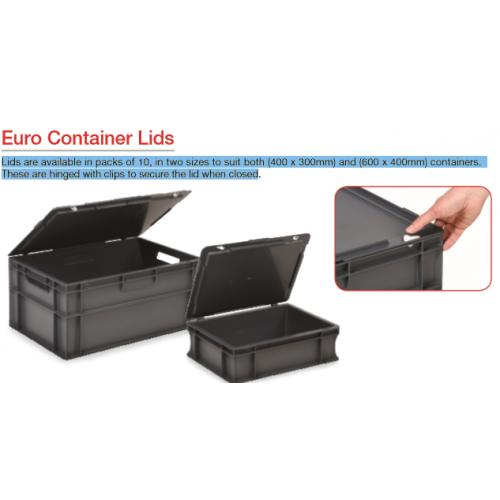 Euro Container Lid - Dark Grey