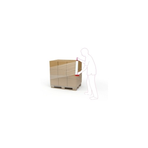 Blown Hand Stretch Film 400mm X 200m 28mu Standard Core 6/box