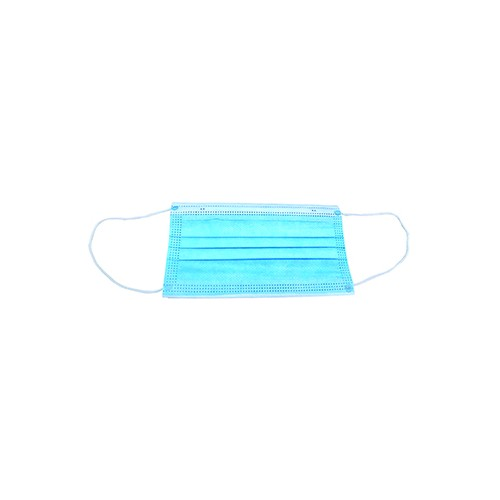 DISPOSABLE 3PLY FACE MASK PK50
