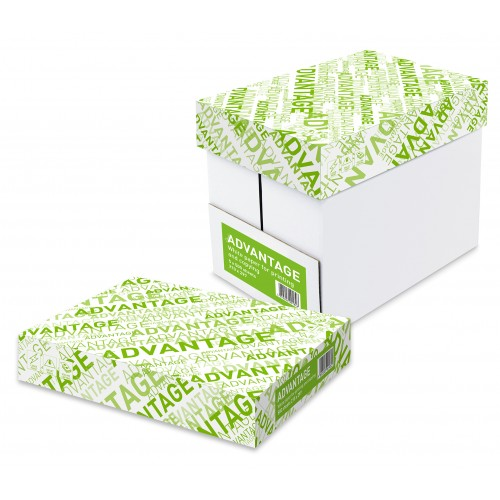 Advantage A4 White Copier Per Box of 5 Reams 2500 Sheets