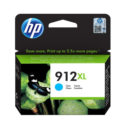 ORIGINAL 912XL CYAN INKJET FOR HP