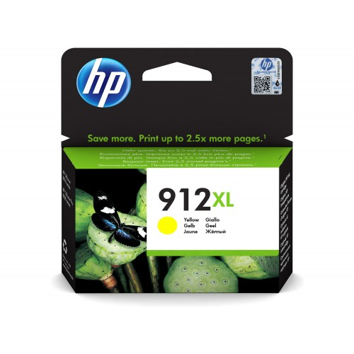 ORIGINAL 912XL YELLOW INKJET FOR HP