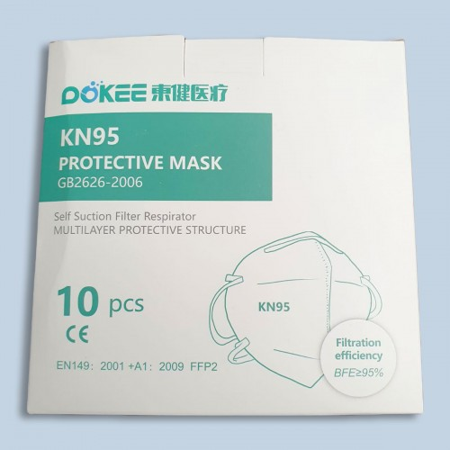 FFP2 | KN95 Protective Mask - GB2626-2006 [Pack 10]