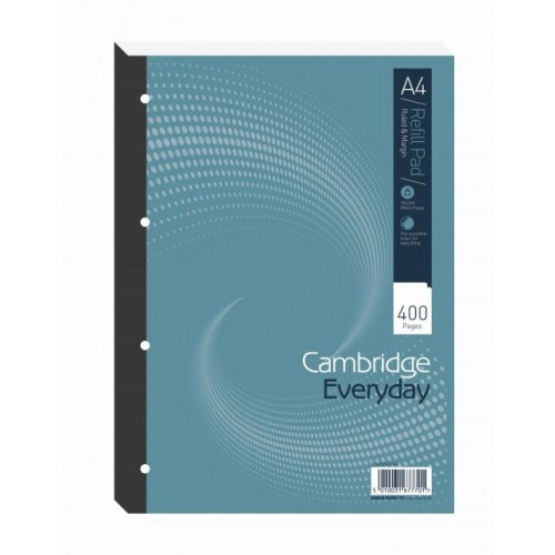 Cambridge Everyday Refill Pad A4 400 Pages