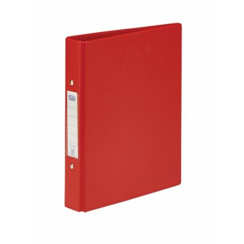 Elba Pvc Ring Binders A5 Red