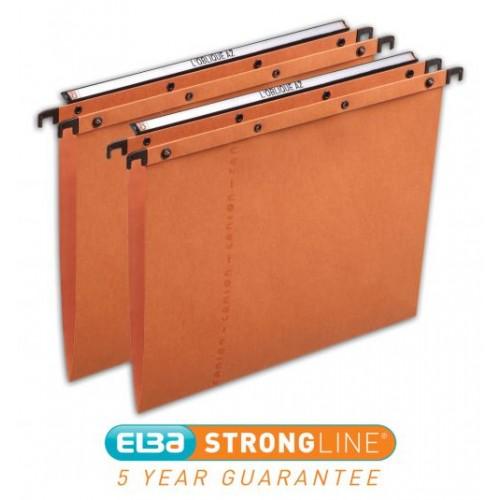 Elba Ultimate Suspension Files Foolscap Orange