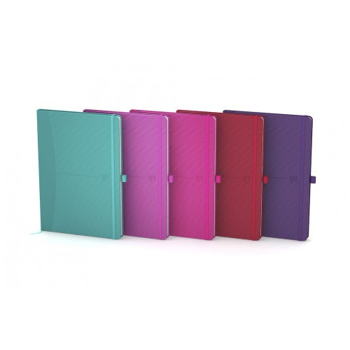 Oxford Casebound Note Books A5 160 Pages Assorted Bright Colours