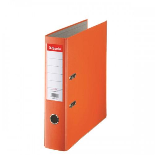 Esselte Lever Arch File A4 Polypropylene 75mm Orange