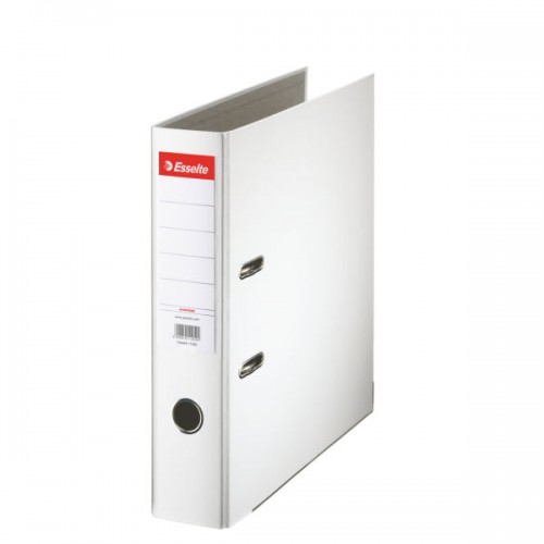 Esselte Lever Arch File A4 Polypropylene 75mm White