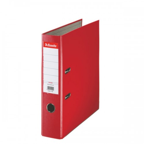Esselte Lever Arch File A4 Polypropylene 75mm Red
