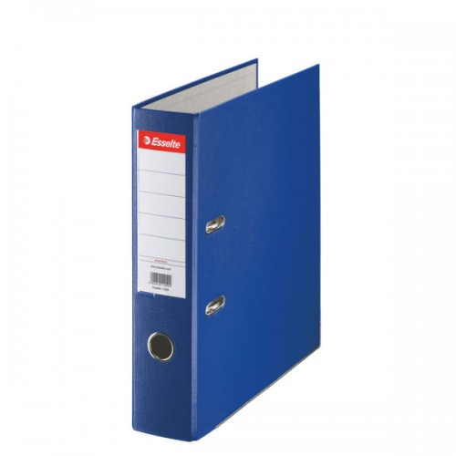 Esselte Lever Arch File A4 Polypropylene 75mm Blue