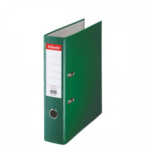 Esselte Lever Arch File A4 Polypropylene 75mm Green